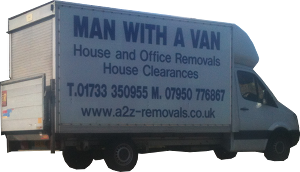 van and man peterborough, milton keynes, cambridge and huntington